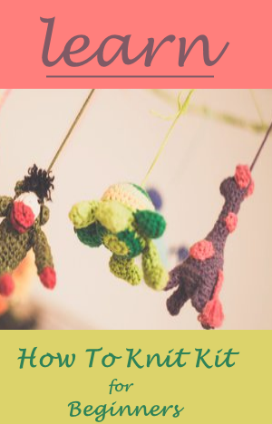 Learn How To Knit Kit For Beginners
