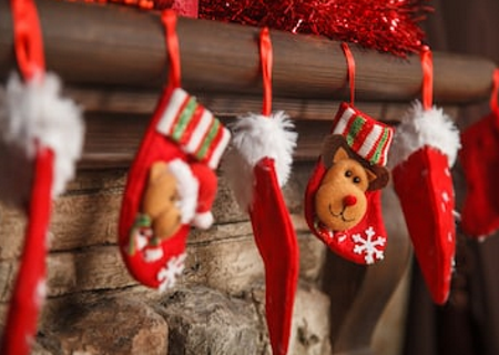 Mantle Clips for Christmas Stockings